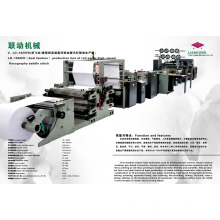 Production Line of 2 Cover Feeders Wire Binding Notebook