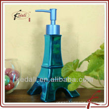 2015 New Design Beautiful Ceramic Decorative Lotion Dispenser Liquid Soap Dispenser