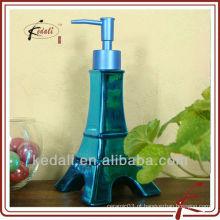 2015 New Design Beautiful cerâmica decorativa loção Dispenser Liquid Soap Dispenser