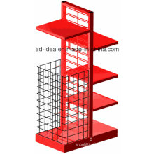 Multifunctionable Red Metal Display with Multi-Shape, Color