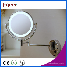 Fyeer Ultra Thin montado en la pared plegable LED baño espejo