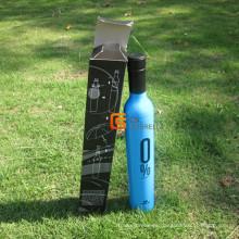 21-Zoll-Handbuch offene Flasche Form Regenschirm (YSB004B)