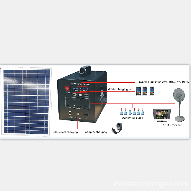 60w solar home system