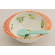 (BC-MB1003) High Quality Reusable Melamine Baby Bowl