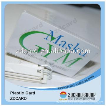 Пластиковые ПВХ визитная карточка / имя карты / визитная карточка