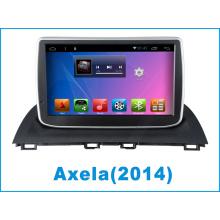 Sistema Android Mazda 3 Axela coche DVD GPS de navegación para 9 pulgadas de pantalla táctil