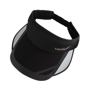 Polyester fabrics with PVC sun visor cap