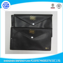 Vente directe en usine de sacs en plastique EVA de protection environnementale noire
