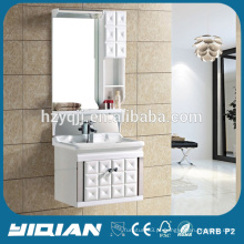 Design de porta especial PVC Waterproof Small Modern Bathroom Wall Cabinet