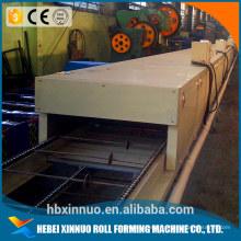 La tuile de toit enduite en pierre de commerce assurance formant la machine de tuile de toit de machine de machine en porcelaine
