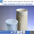 Saco de filtro não tecido da fibra de vidro do coletor de poeira para a planta do asfalto da mistura