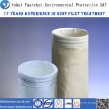 Saco do coletor de poeira do saco de filtro do ar da fibra de vidro HEPA para a indústria