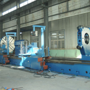 Integral two guideways manual horizontal lathe