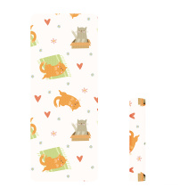 Yugland  Wholesale Custom Print Logo  small Non Slip Eco-Friendly TPE Yoga Mat for kids