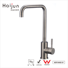 Haijun 2017 Promotional NSF cUpc Stainless Single Hole Kitchen Sink Tap Faucet