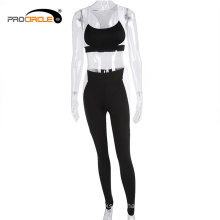 Wholesale Fitness Sexy Sport Clothing Sets Yoga Wear