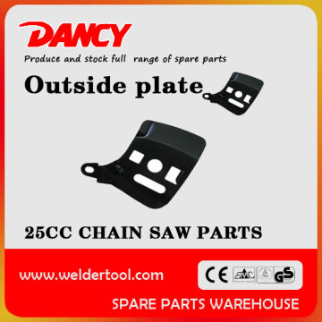 2500 chainsaw outside plate