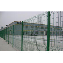 PVC Coated Bilateral Welded Wire Fence with High Quality