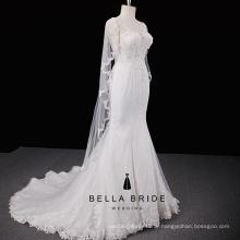 4cac52838a1ad أنيقة حورية البحر فساتين الزفاف الصين الراقية الزفاف ثوب الزفاف فستان العروس  للبيع