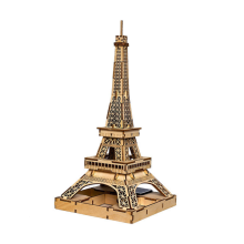 Leading Manufacturer for China Wooden Puzzle Toys,3D Puzzle Wooden Toy,Wooden Educational Toy,Adult Wooden Toys Exporters 3D DIY Wooden Solar Toy Eiffel Tower Toys export to Dominica Manufacturer