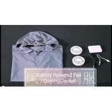 Été Unisexe Ventilateur De Refroidissement Air Conditionné Workwear Veste
