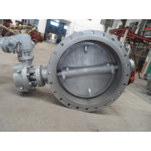Eccentric Motor Operated Tripple Butterfly Valve