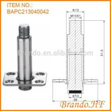 OD 13 mm Válvula Solenóide de Água Normalmente Fechada Tubo de Armadura em Aço Inoxidável