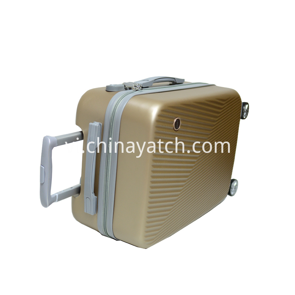 ABS Luggage with Iron Tube