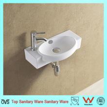 Moderno diseño de la casa de cerámica lavabo cuadrado