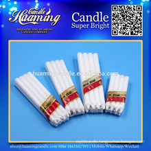Top Sell White Candles,Paraffin Wax Candle, Shrink Package