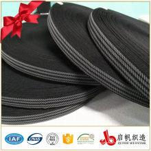 Benutzerdefinierte gestrickte häkeln dünne elastische Jacquard-Band für Kleidung