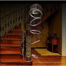 luminárias pendentes para decoração de casa lâmpada de cristal