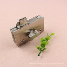 Высокое качество латунь Материал индикатора туалет стеклянная дверь замок