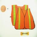 Производитель с высокой видимостью Жилет безопасности с логотипом Светоотражающий жилет