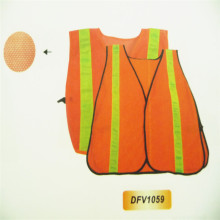 Manufacturer High-Visibility Safety Vest with Logo Printing Reflective Vest