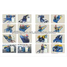 A folha de cores de alta velocidade yx25-205-820 usou a máquina de formação de rolo feita na China