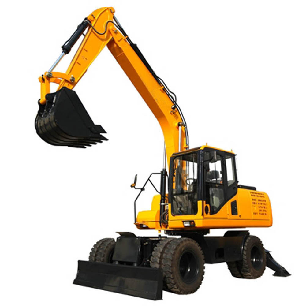 Wheeled Excavator Machine