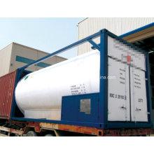 50m3 Lox / Lin / Lar / LNG / LPG Tanque de gás de armazenamento criogênico (LAR / LIN / LOX / LCO2)