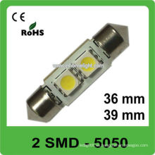 36mm 39mm 12V 5050 SMD guirnalda llevada bombilla