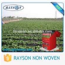 agricultura no tejida mypex cubierta de tierra mulch weed