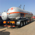 36000 liters Liquefied petroleum gas semi trailer