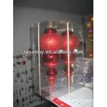 novo modelo de ornamento de bola de poliestireno de Natal