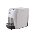 Manual capsule coffee machine