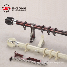 top selling european style flexible metal curtain rod