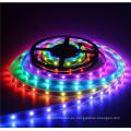 DC5V impermeable IP67 Flexibel negro PCB WS2812B programable RGB LED tira
