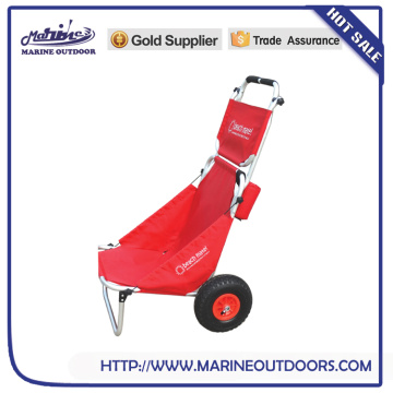 High quality fishing trolley , beach trolley cart, aluminum beach cart made in China