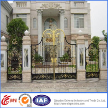 Elegant Wrought Iron Residential Security Gate