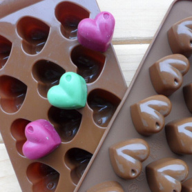 DIY Fondant Mould Safe Silicone Ice Candy Tray