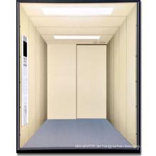 Freight Aufzug mit großem Raum