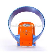 2015 nueva venta caliente Fan sin escobillas / 12 pulgadas / con luz LED y control remoto (naranja, azul)
